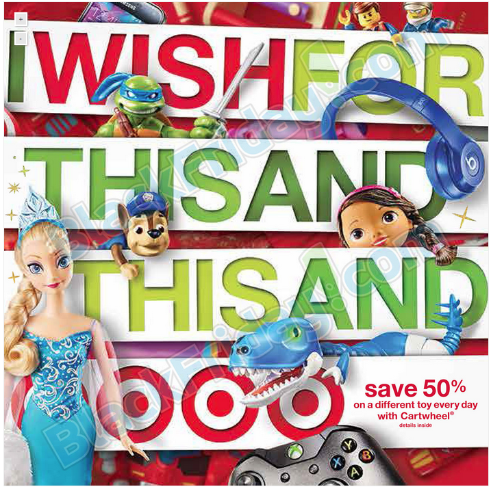 Target Black Friday Ad Scan and Deals