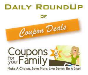 Weekly Roundup Coupon Deals