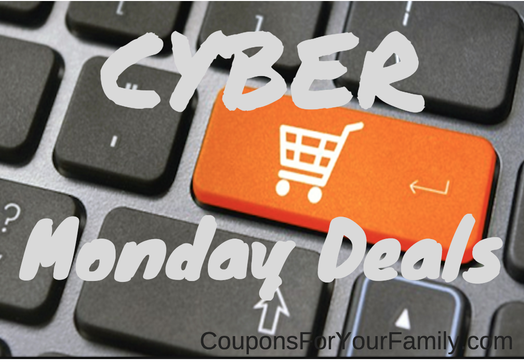Cyber Monday Deals going on NOW!!–Abercrombie, Amazon, Gap, Limited, Aeropostale, Kohl's, BestBuy, Target, Old Navy, Vera Bradley & tons more!!