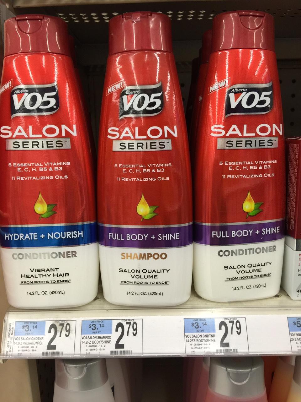 vo5 salon shampoo