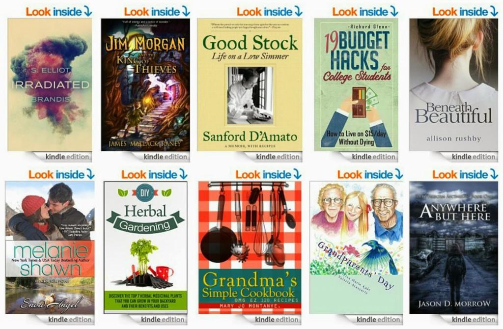 10 Free Kindle Books 1-22-15