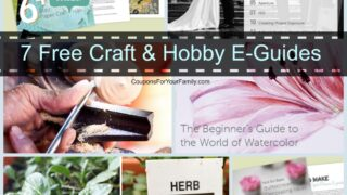 7 Free Craft & Hobby EGuides