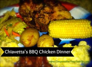Buffalo Chiavettas BBQ Chicken Dinner