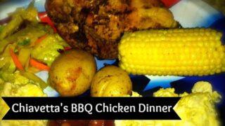 Buffalo Chiavettas BBQ Chicken Dinner