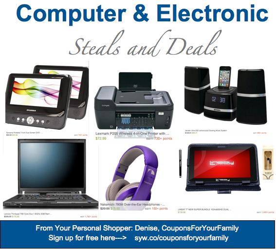 Computer and Electronics Steals & Deals