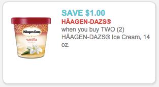 haagen daz coupon