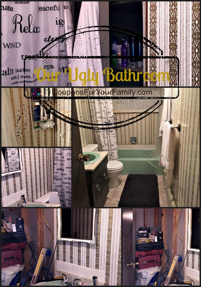 our ugly bathroom