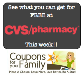 CVS Shop For Free Deals