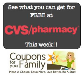 CVS Shop For Free Deals