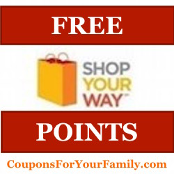 Shop Your Way Points