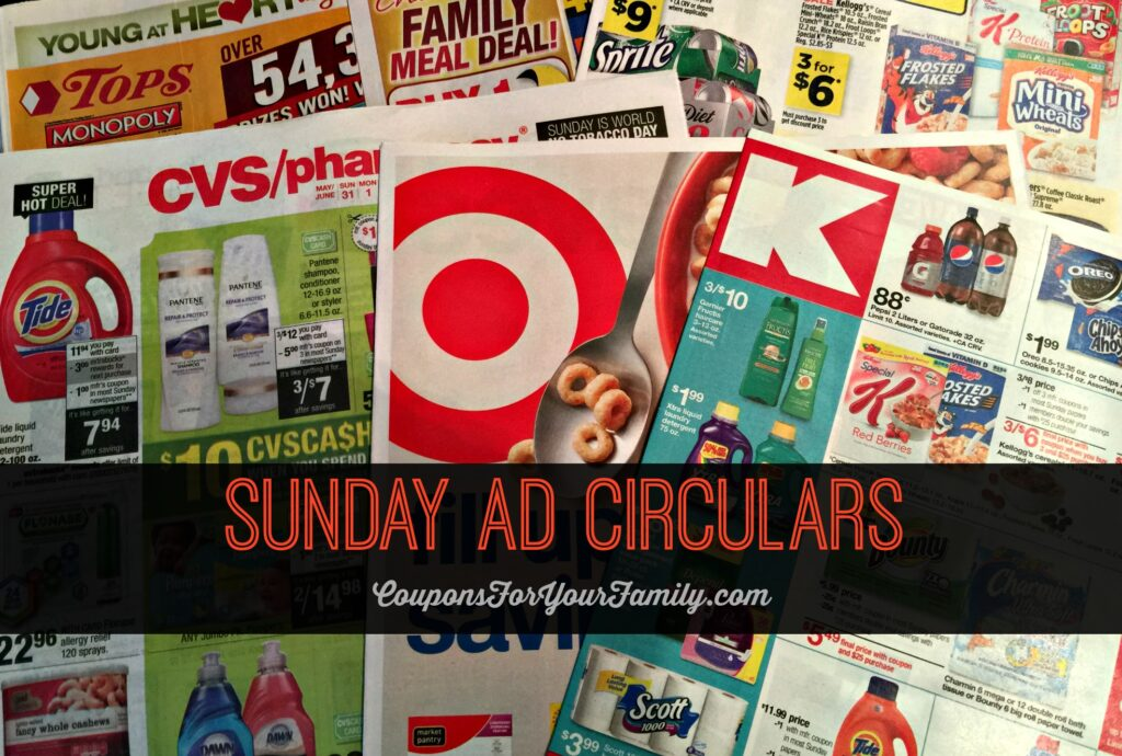 Sunday Circular and Sales Ad