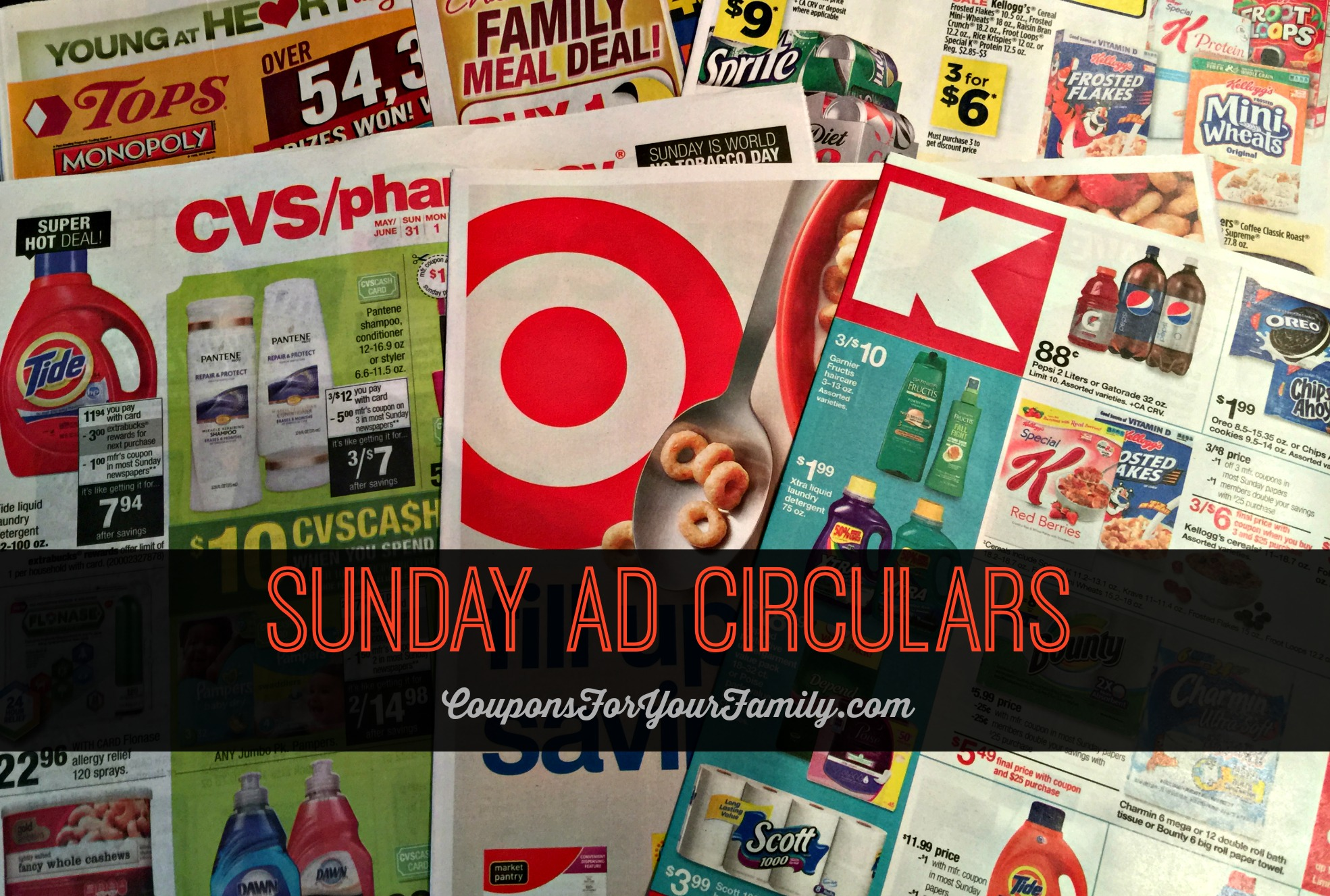 Sunday Circulars and Sales Ad
