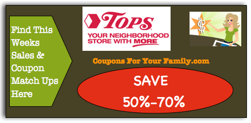 This weeks Tops Coupon Matchups Nov 29 – Dec 05 are live!