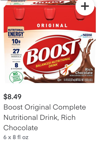 Tops Boost Drink Coupon