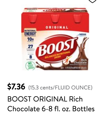 Walmart Coupons for Boost Drinks