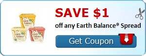 Save $1.00 off any Earth Balance® Spread