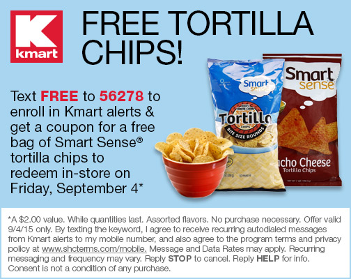 free tortilla chips