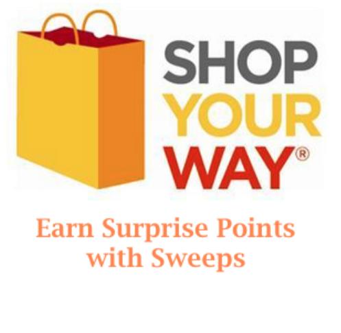 Shop Your Way Surprise Points