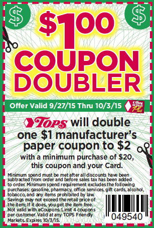 TOps MArkets Dollar Doublers