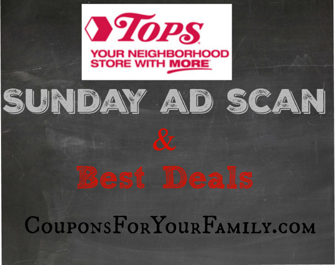 Tops Ad Scan starting May 29 is live AND Dollar Doubler info starting June 5!!!