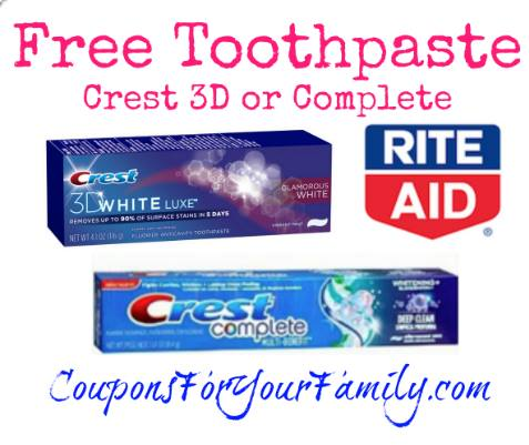 Rite Aid Coupon Deal