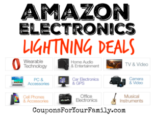 Amazon Electronics Lightning Deals