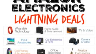 Amazon Electronic Lightning Deals