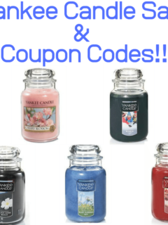 Yankee Candle Sale & Coupon Codes!!