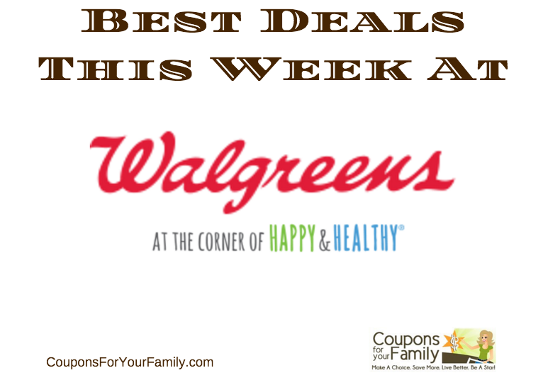 Walgreens Coupon Matchups Nov 13 – 19:  $1.24 Colgate Toothpaste, $0.49 Sure Deodorant, $1.00 Scrubbing Bubbles & more