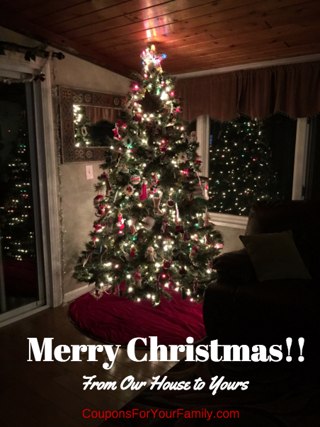 Wishing you all a very Merry Christmas!!