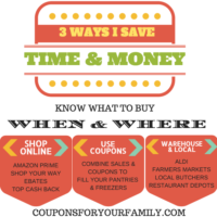 3 Simple Ways to Save Money and Time