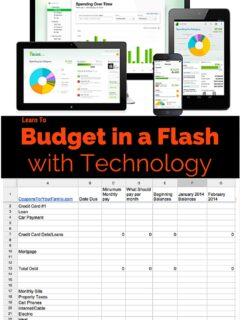 Budget in Flash with Technology