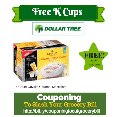 Dollar Tree Free Gevalia K Cups