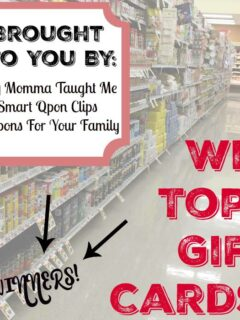 Tops MArkets Giveaway