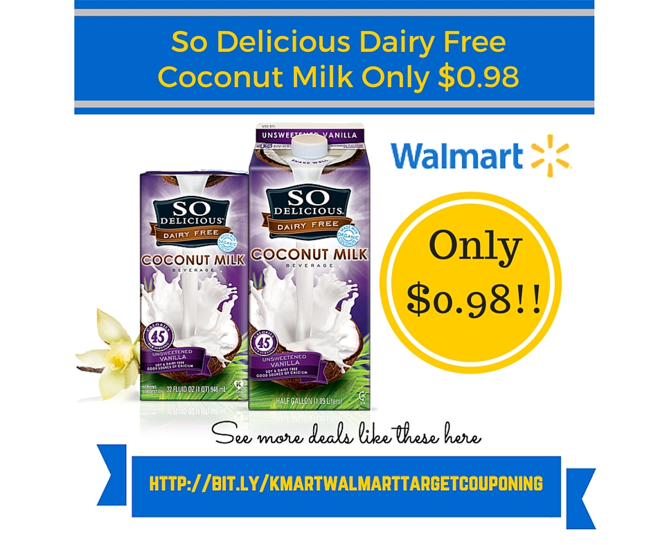 Coupon so delicious coconut milk