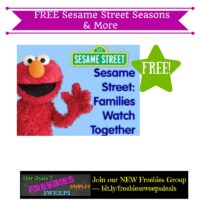 Freebies Offer: FREE Sesame Street Seasons & More