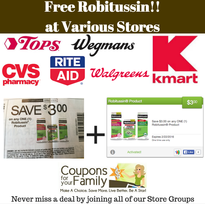 free robitussin