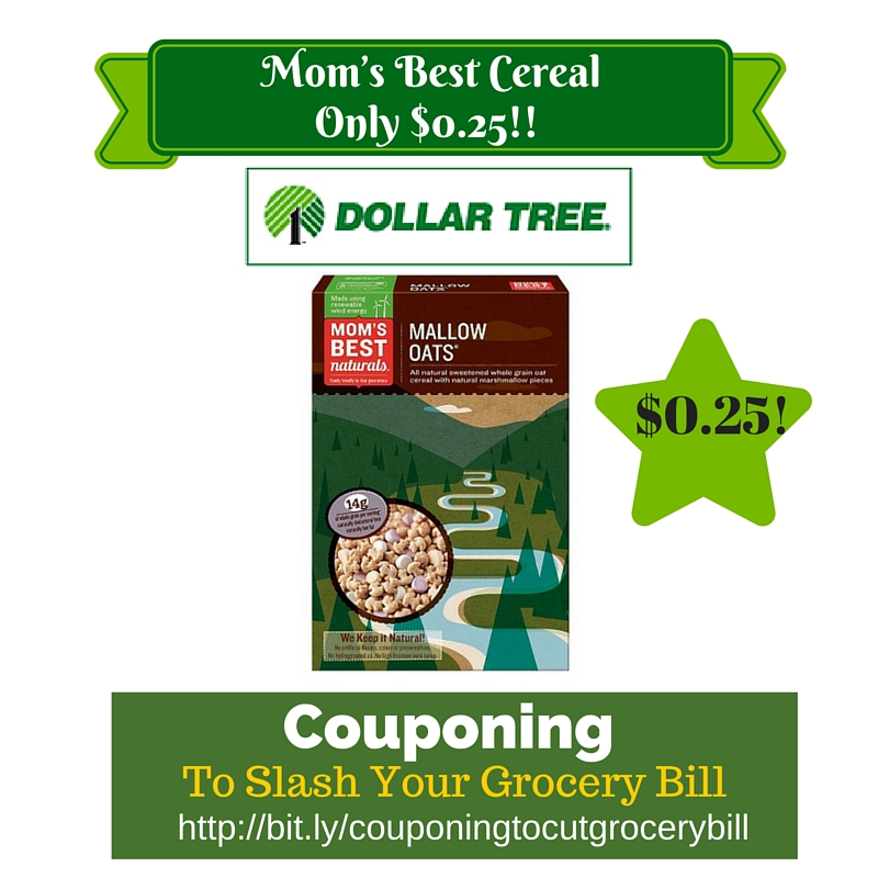 Mom's best cereal coupons