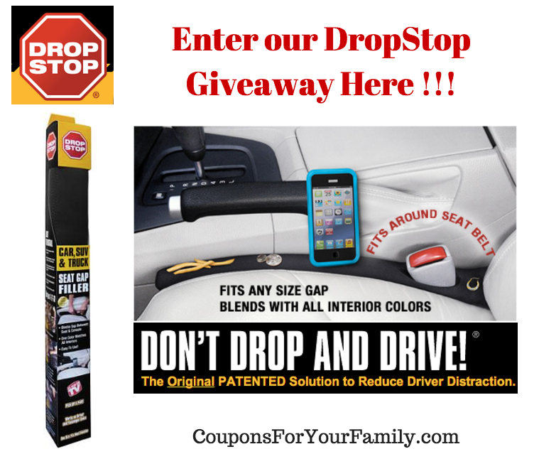 Get DropStop and Never Search under Your Car Seat Again – enter our Giveaway for chance to win!
