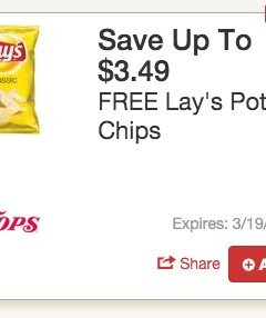 Free Lays Chips