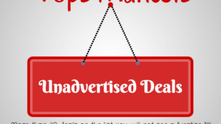 Tops Markets unadvertised Sale Deals updated MArch 22