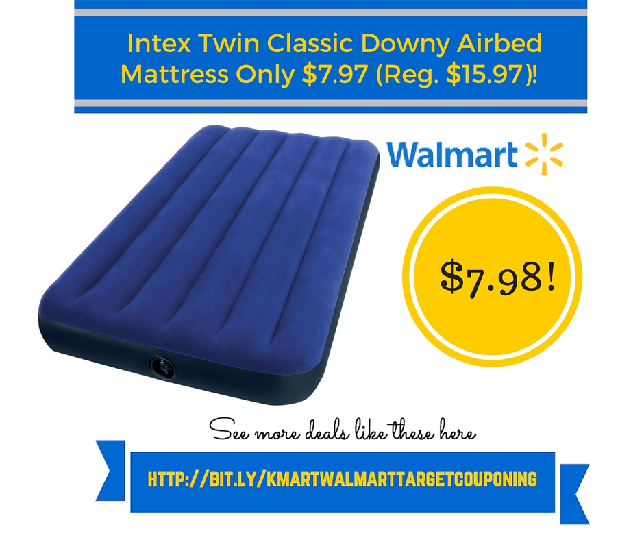 Costco Mattress Coupon ... : Intex Twin Classic Downy Airbed Mattress Only $7.97 (Reg. $15.97