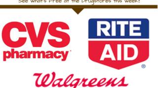 Drugstore Freebies List