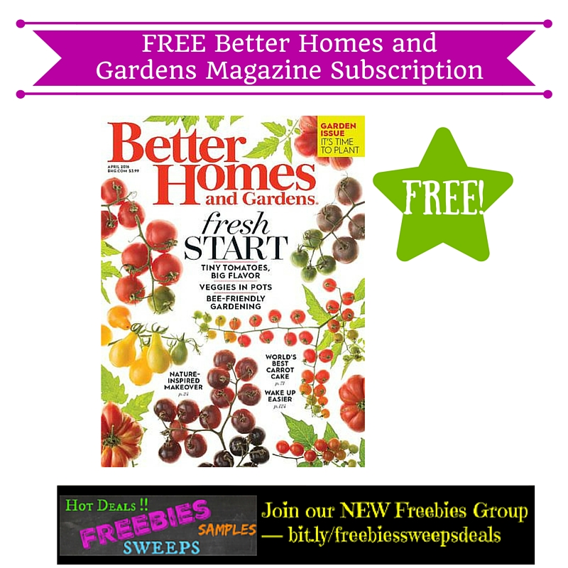 Free Better Homes And Gardens. Finest Better Home And Garden