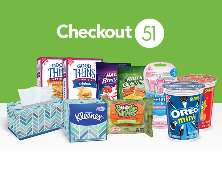 Checkout51 Cashback Sneak Peek offers Thurs April 14th:  Halls, Huggies, Scott, French's, Venus Razors, Cottonelle & more