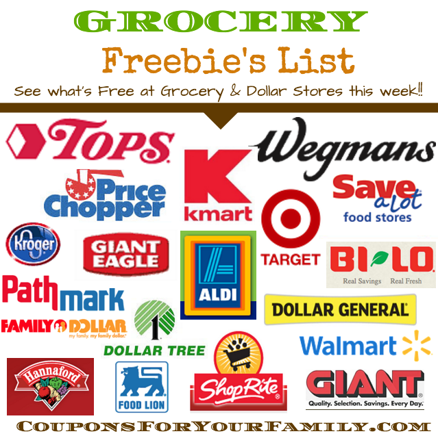 Grocery Freebies