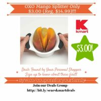 Kmart Retail Deals: OXO Mango Splitter Only $3.00 (Reg. $14.99)