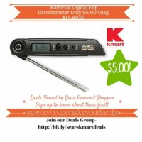 Kmart Retail Deals: Maverick Digital Flip Thermometer Only $5.00 (Reg. $14.99)