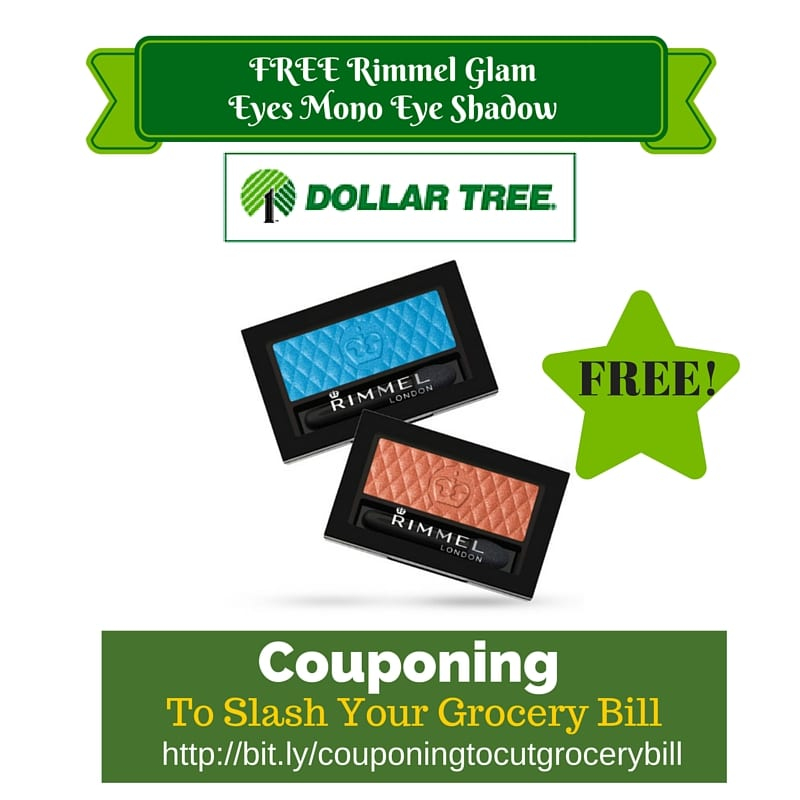 Dollar Tree Coupon Matchup Free Rimmel Glam Eyes Mono Eye Shadow