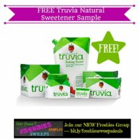 Freebies Offer: FREE Truvia Natural Sweetener Sample